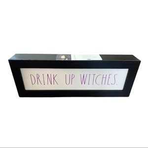 Rae Dunn Drink Up Witches Sign